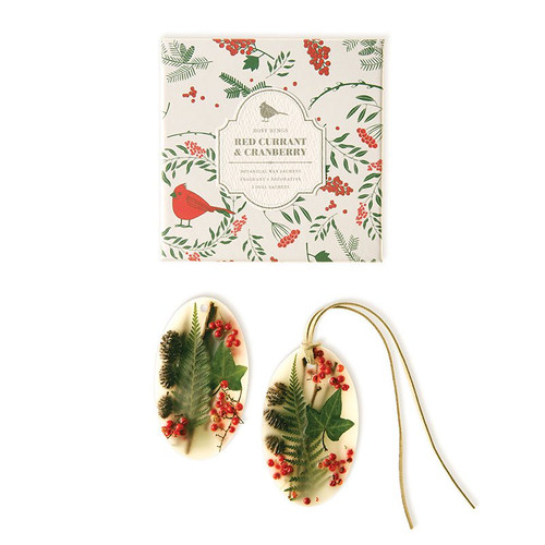 Red Current and Cranberry Botanical Wax Sachets