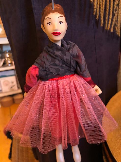 Marionette Puppet Pink Ballerina