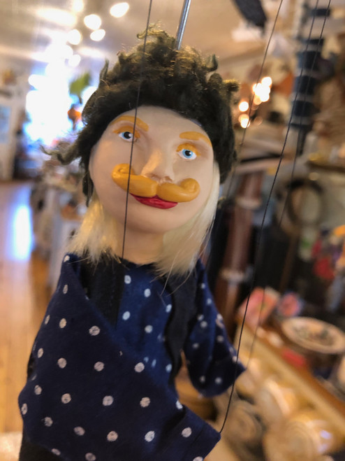 Marionette Puppet Peasant Boy