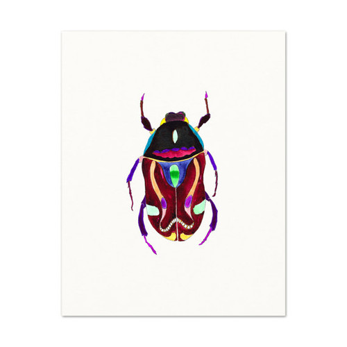 Beetle No. 3 Art Print
