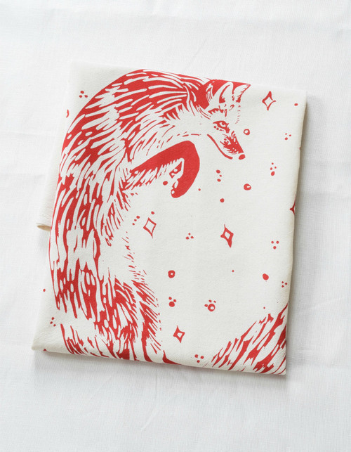 Celestial Fox Organic Tea Towel