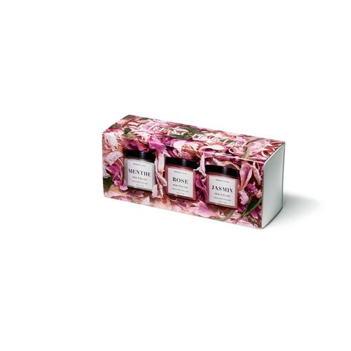 Sea Polish Trio French Girl Gift Box Set (Menth/Mint, Rose, Jasmin)