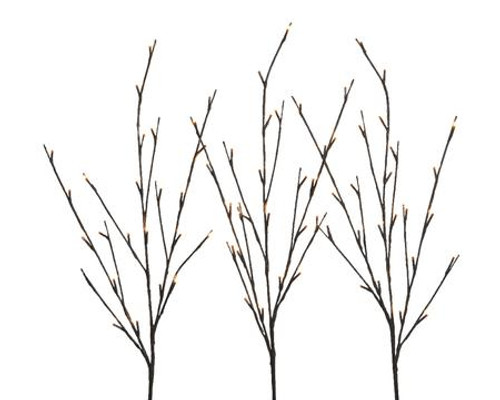 Lumineo LED Branch Set of Three 40 inch Branches (connected)