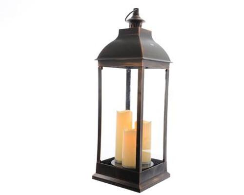 """Lumineo 15"""" LED Lantern Battery Operated (2xC)"""