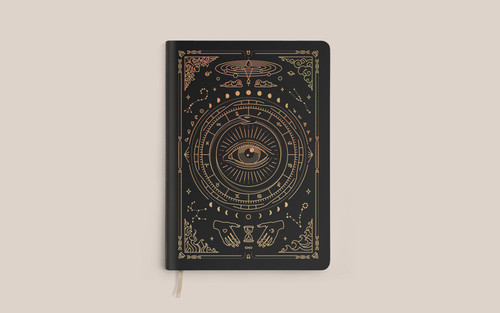 Vegan Leather Journal by Magic of I