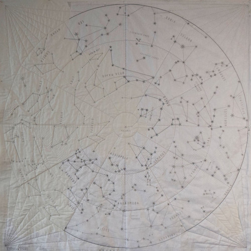 "DIY Quilt Kit of the Northern Constellations (Large 72"" x 72"")"