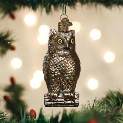 Vintage Owl Ornament