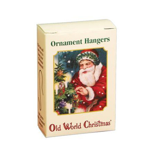 100 Green Ornament Hangers