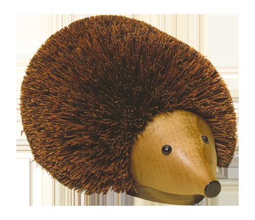Beech Wood Shoe Cleaning Hedgehog