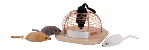 Humane Non-Lethal Mouse Trap in Beech Wood and Metal Catch and Release