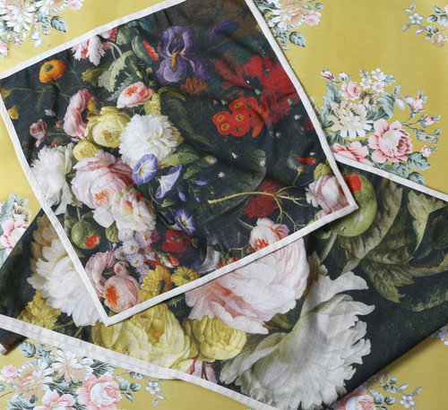 Bouquet Dinner Napkins (Set of 4)