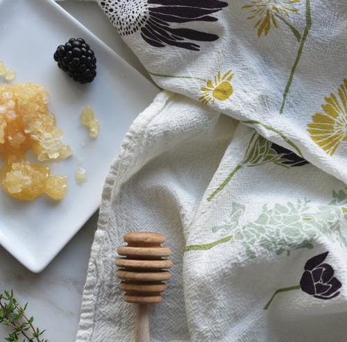 Honey Bee Garden Towel