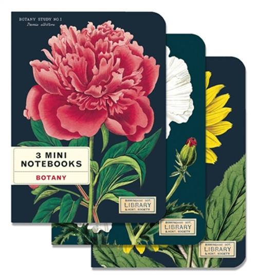 Botany Mini Notebook Set of 3