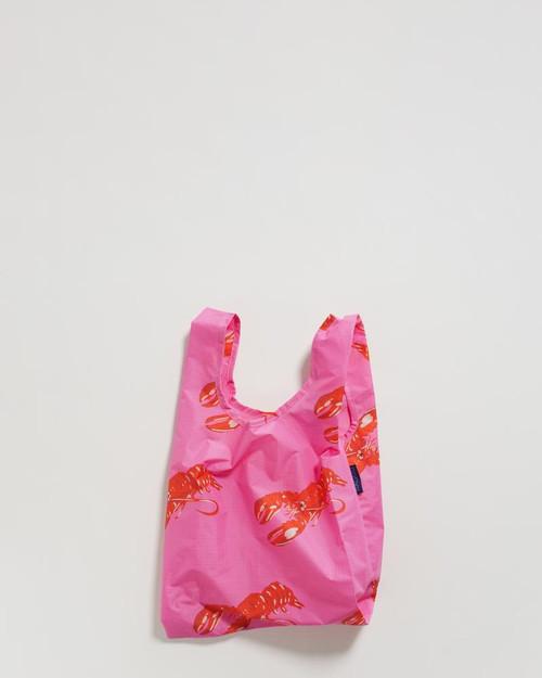 Baby Baggu in Pink Lobster