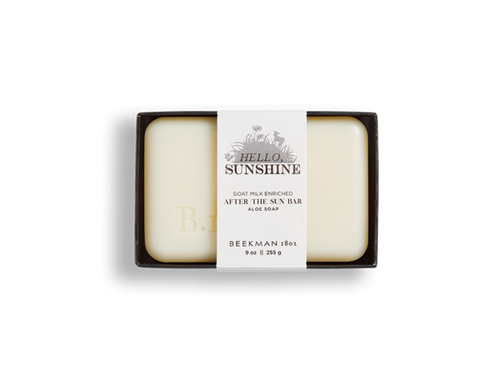 After the Sun Soap Beekman 1802