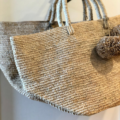 Pom Tote (available in 2 colors)