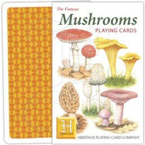Mushrooms Playing Cards