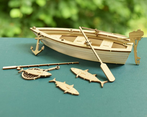 Fishing Boat Model Kit