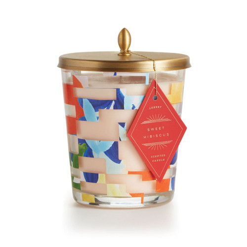 Sweet Hibiscus Cameo Jar Candle