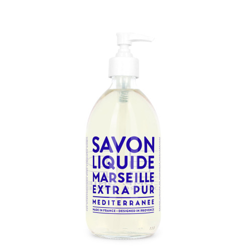 Liquid Marseille Soap 16.9 fl. oz. - Mediterranean Sea