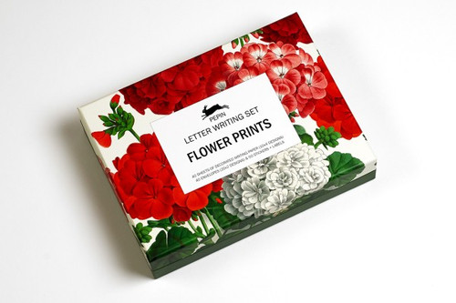 FLOWER PRINTS Letter Writing Stationary Set