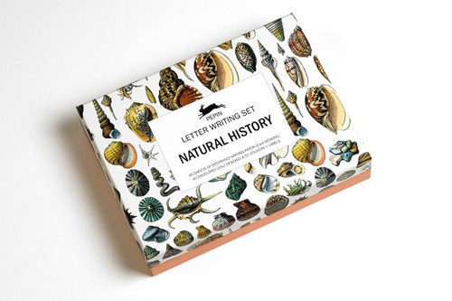 NATURAL HISTORY Letter Writing Stationary Set
