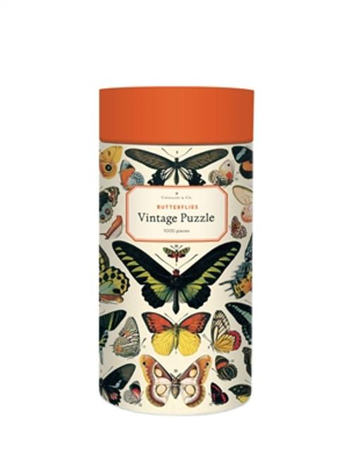 Vintage Puzzle Butterflies 1000 Piece Puzzle