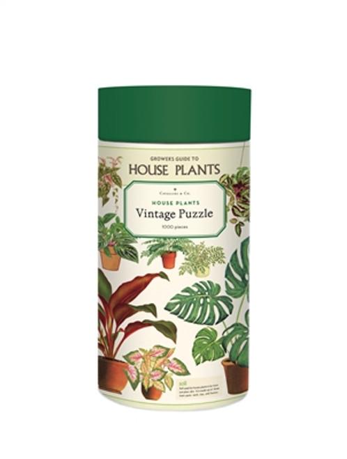 Vintage Puzzle House Plants 1000 Piece Puzzle