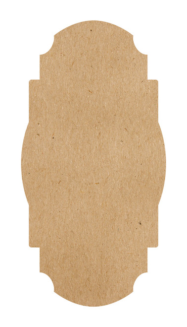 Kraft Frame Paper Table Accent (Pack of 12)