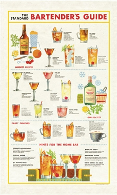 Bartender's Tea Towel