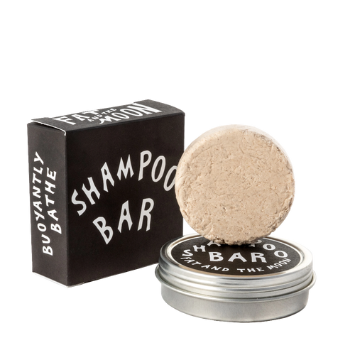2oz Shampoo Bar (with tin) by Fat And The Moon