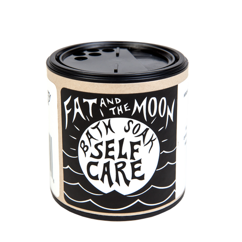 6oz Self Care Bath Soak by Fat And The Moon