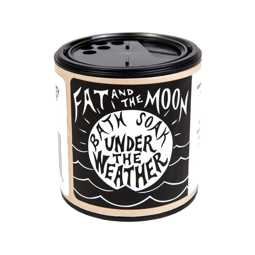6oz Under The Weather Bath Soak by Fat And The Moon