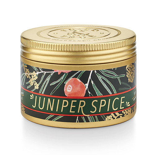 Juniper Spice Small Candle Tin