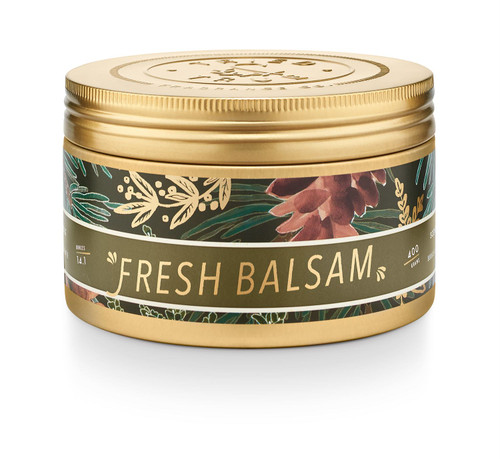 Fresh Balsam Large Candle Tin