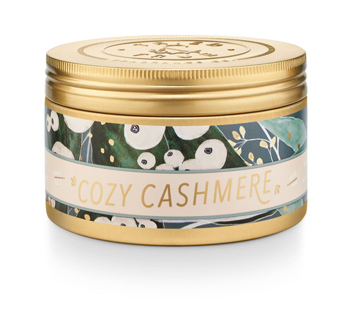 Cozy Cashmere Large Candle Tin