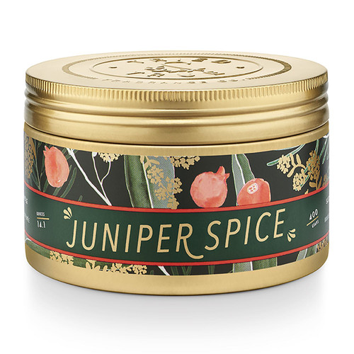 Juniper Spice Large Candle Tin