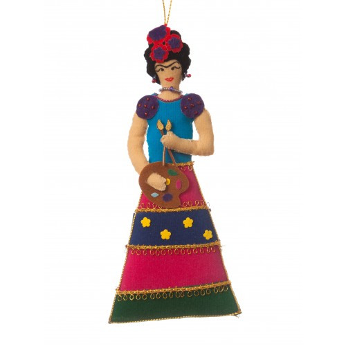 Frida Kahlo Ornament