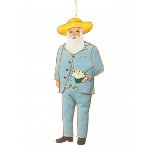 Claude Monet Ornament
