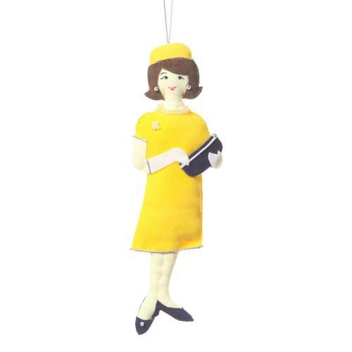 Jacqueline (Jackie) Kennedy Onassis Ornament