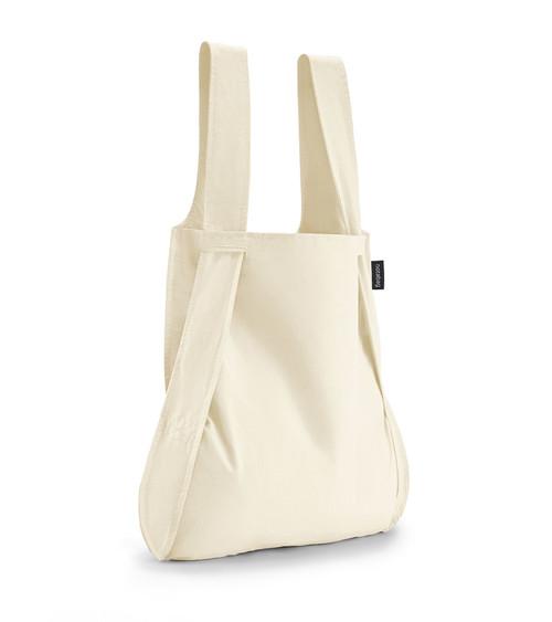 Notabag Raw Natural Bag + Backpack