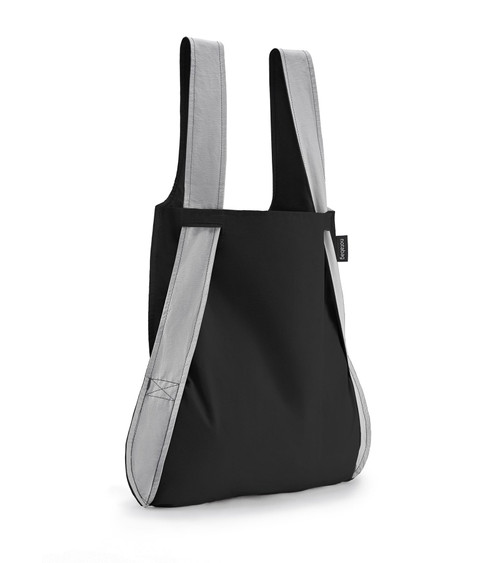 Notabag Black + Grey Bag + Backpack