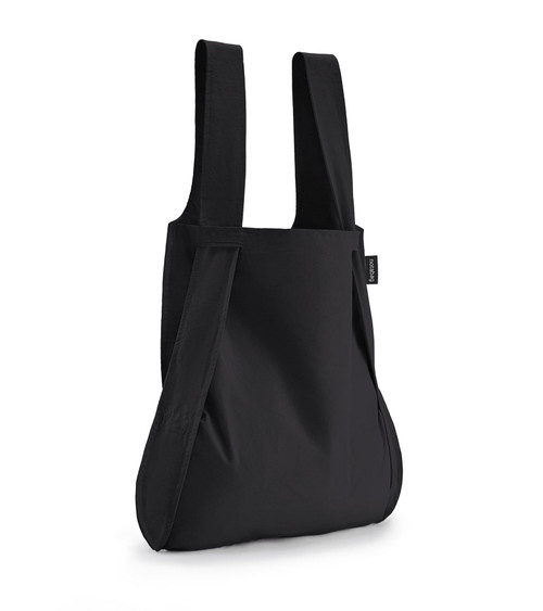 Notabag Black Bag + Backpack