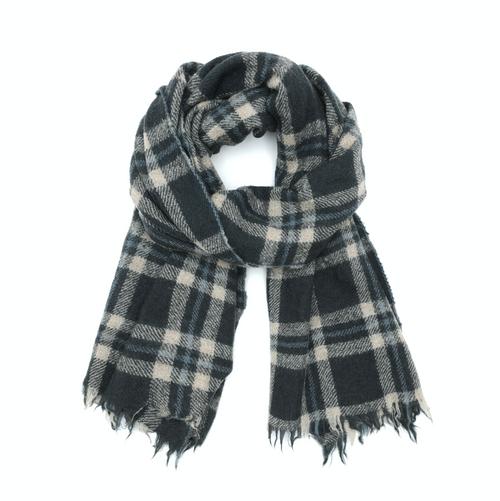 Wool Scarf 475 Grey