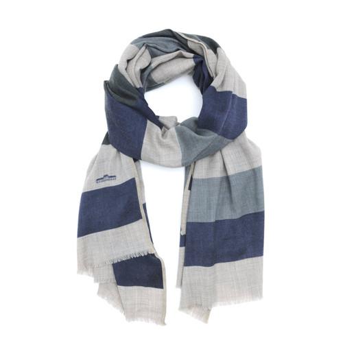Wool Scarf 458 Japan Blue