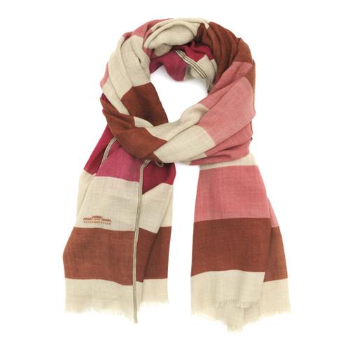 Wool Scarf 458 Indian Pink