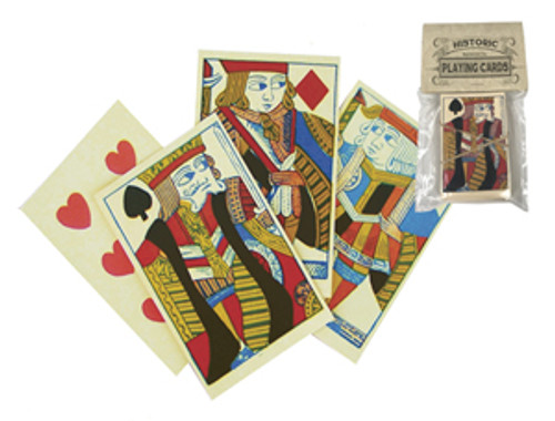 18th Century Reproduction Playing Cards