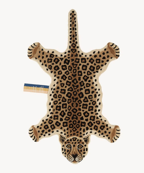 Loony Leopard Animal Rug in Large