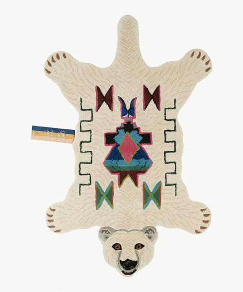 Kasbah Polar Bear Animal Rug in Large
