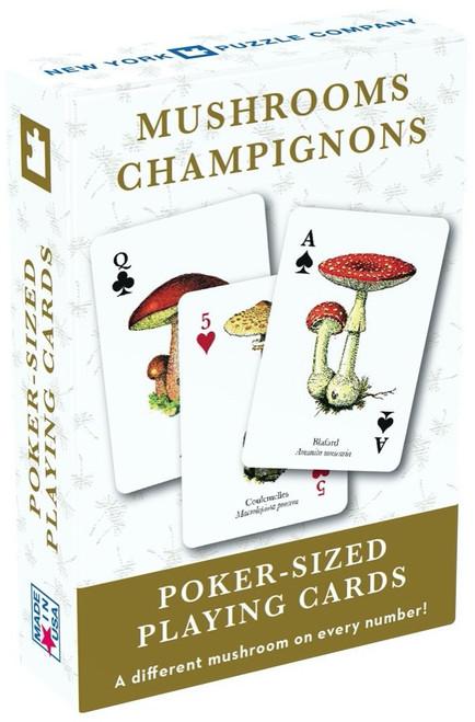 Mushroom Poker Sized Playing Cards